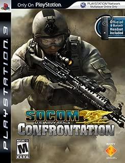 SOCOM: U.S. Navy SEALs Confrontation bundled with Bluetooth Headset - Playstation 3