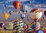Lunriwis 1000 Teile Klassische Puzzles, Jigsaw Puzzle Ballon,für Erwachsene Familie...
