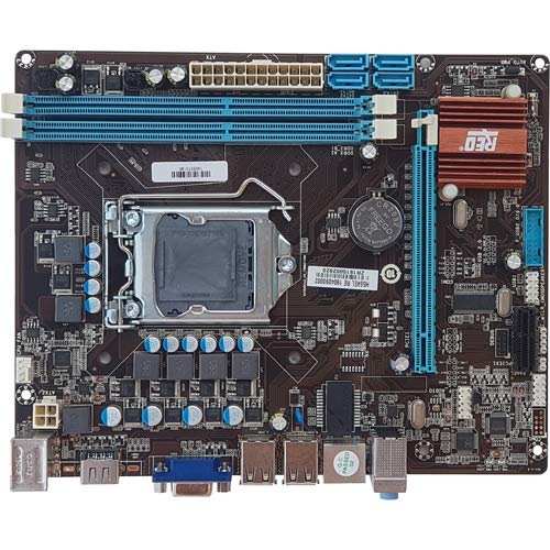 REO H55 Socket 1156 mATX Motherboard(Supports Intel i3 and i5 1st Gen CPUs)