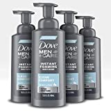 Dove Men+Care Foaming Body Wash to Hydrate Skin Clean Comfort Effectively Washes Away Bacteria While Nourishing Your Skin 13.5 oz 4 Count