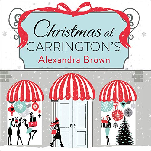 Christmas at Carrington's audiobook cover art