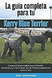 La Guía Completa Para Tu Kerry Blue Terrier: La guía indispensable para el dueño perfecto y un Kerry Blue Terrier obediente, sano y feliz.