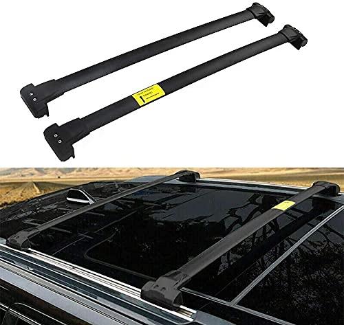 Alluminio Portapacchi Barre Traversale per Jeep Grand Cherokee 2011-2020, Robusti portapacchi Traversa viaggio e campeggio Sostituzione di rack ad alta resistenza agli urti