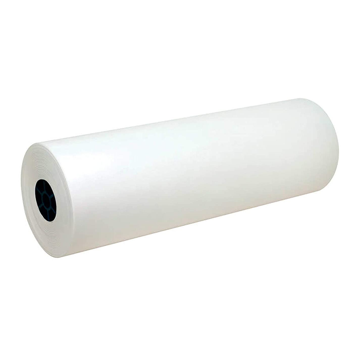 Pacon PAC5624 Lightweight Kraft Roll, White, 24