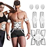 OSITO Abs Stimulator Muscle Toner Abdominal Muscle Trainer - Rechargeable EMS Ab Stimulator