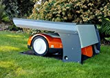 Cobertizo para robot cortacésped multimarca ROBOT PROTECT XL, fabricado en Europa.