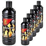 6 Liter (6x 1 Liter) Flash Lampenöl Petroleum-Lampen Gartenfackel Öl