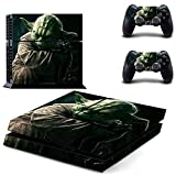 Homie Store PS4 Pro Skin - Ps4 Skins - Ps4 Slim Sticker - Star Wars: Cover Decal PS4 Skin Sticker for Sony Playstation Console & 2 Controller Skins