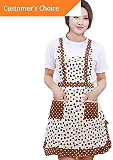 Kaputar Women Men Cooking Chef Kitchen Home Restaurant Bib Aprons Dress with Pocket BBQ | Model-361