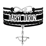 Walking Dead Infinity Love Bracelet CollectionNEW (8.5 Inches Adjustable, Original Daryl Dixon Infinity Love Fan Bracelet)