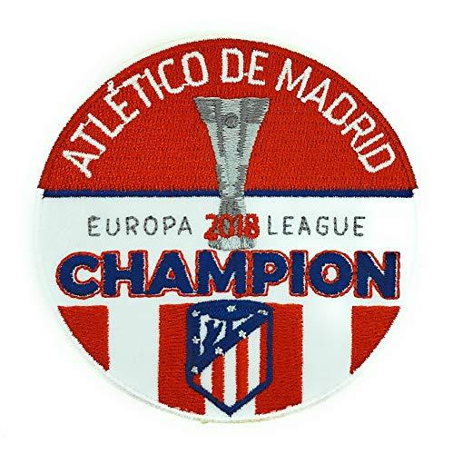 Gemelolandia Parche Termoadhesivo Atlético de Madrid Campeones Uefa Europa League 2018 9cm
