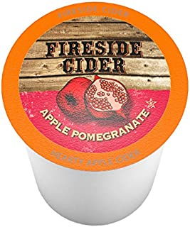 Fireside Cider Apple Pomegranate Single-Cup Cider for Keurig K-Cup Brewers, 40 Count
