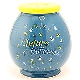 'Zukunft Millionär' Funny Neuheit Spardose aus Keramik Jar