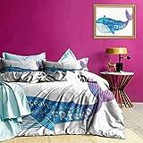 Tagesdecken Bettdecke Aquarell Abstract Quote Print Bequeme Bettw?sche kann zu jeder Jahreszeit verwendet Werden