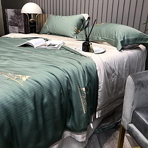 Manta de Microfibra Color sólido, Extra Suave Mantas para Sofás, Multifuncional para sofá, Cama, Viajes, Adultos, niños -Marsella_200 * 230cm