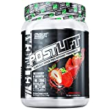Nutrex Research Postlift | Clinically Dosed Post-Workout Powerhouse | Cluster Dextrin, Glutamine, Betaine Anhydrous, EAA's, Electrolytes | Strawberry