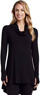 Cuddl Duds Women's Softwear with Stretch Long Sleeve Cowl Tunic