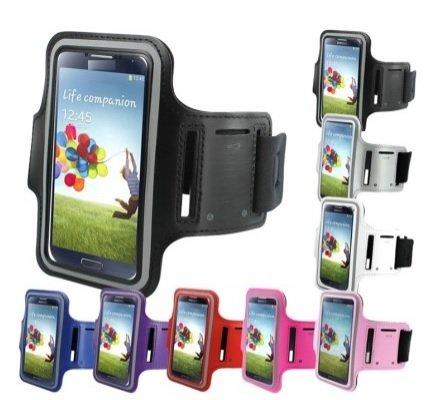 Brazalete Neopreno Deportivo para Smartphone Bq Aquaris 5 para Correr/Running/Deporte Color - Fucsia