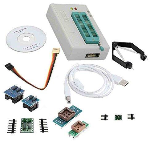 laqiya tl866Ⅱ Plus Programmer USB EPROM FLASH Bios Programmable Logic Stromkreise 6Adapter Socket Extractor für 15000IC