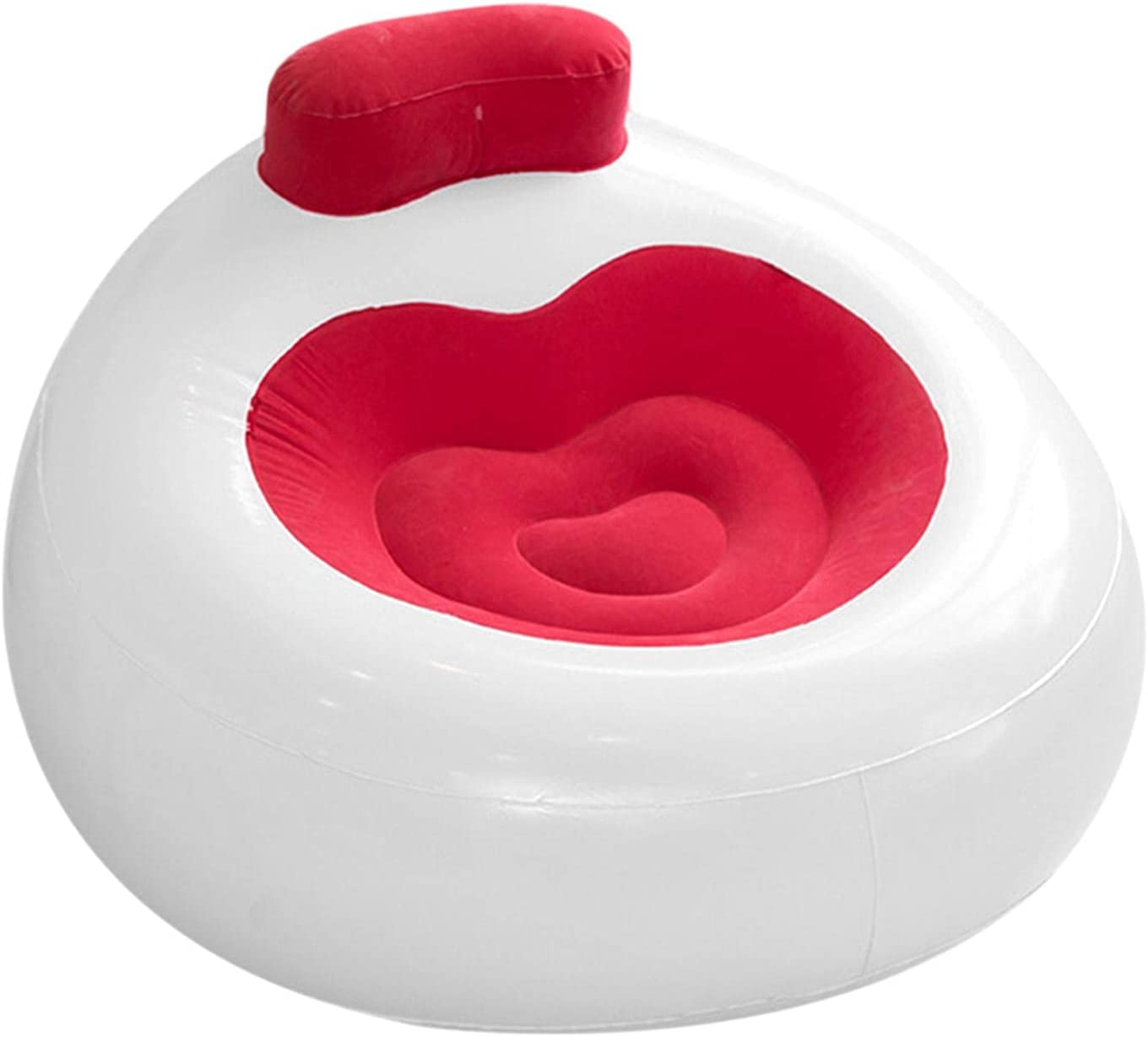 Poiuqew Beauty products Flocking Inflatable Sofa Chair Wash Lazy Beauty products