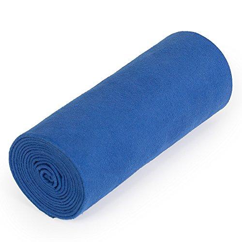 nu:ju® Serviette de Sport/Fitness, Serviette de Voyage en Microfibres Argent ionisé, 1 Moyen lot (70 x 150 cm), Lapis Blue. Légèreté - Absorbant - résistant - Lavable jusqu'à 95