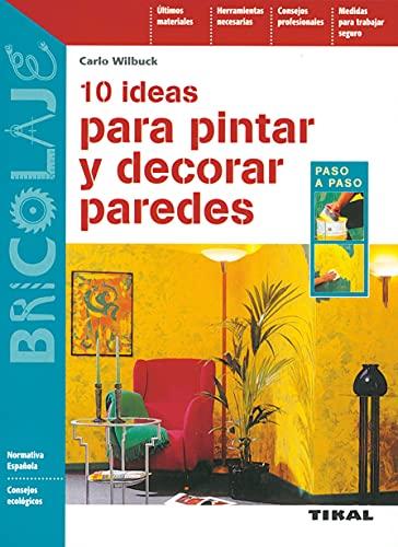 10 Ideas para Pintar y decorar Paredes (Bricolaje)