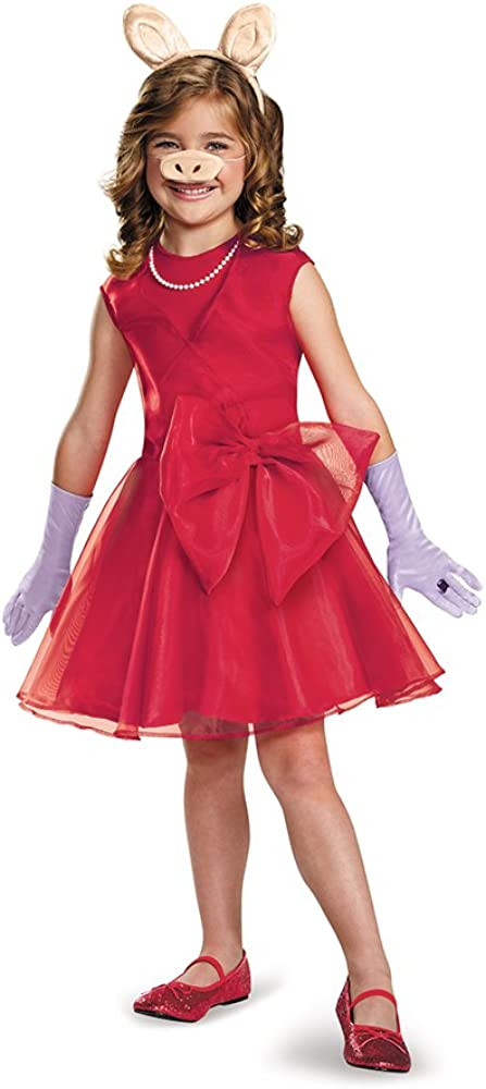 The Kansas City Mall Muppets Miss Piggy Seasonal Wrap Introduction Child Classic Costume