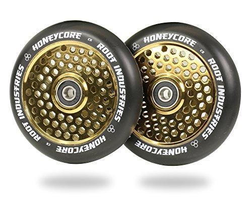 Root Honeycore Black Completo Rueda 110mm 2 Piezas (110mm - Oro)