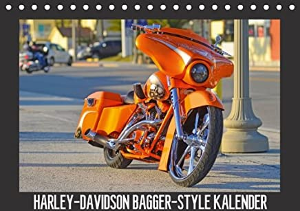 Harley-Davidson bagger-style Kalender–autore: Wolf Volker