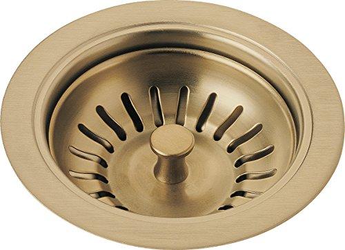 Delta Faucet 72010-CZ Flange and Strainer, Kitchen Sink, Champagne Bronze