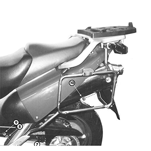 Kappa - Portavaligie Lateral Coche para Maletas monokey kl164Honda XL 1000v Varadero (99> 02)