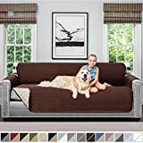 Sofa Shield Original Patent Pending Reversible X-Large Oversized Sofa Protector for Seat Width up to...