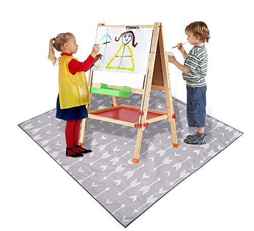 RGLZY Splat Bodenmatte Für Kinder, Splat Mat Bodenunterlage Für Unter Hochstuhl, Mehrzweck Mat - Kinder Modernen Picknick-Matte - Wasserdicht Und Sand Beweis Beach Blanket