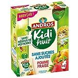 Andros Kidifruit Goude Pomme/Fraise 4 x 85 g 3608580944577