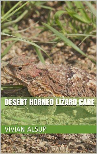 Desert Horned Lizard Care (English Edition)