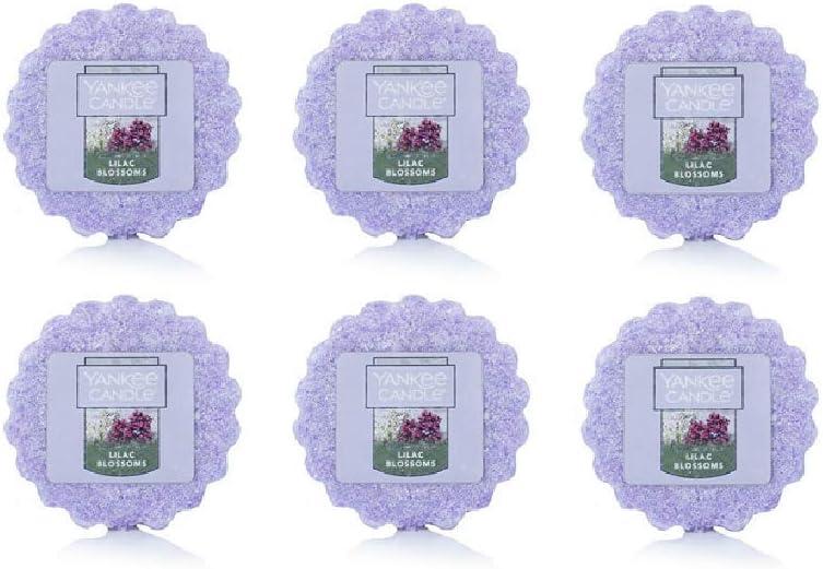 Yankee Candle LILAC BLOSSOMS Wax TART Melt USA Deerfield Spring Summer Flower