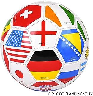 Rhode Island Novelty 9 Inch Regulation Flag Soccer Ball, One per Order
