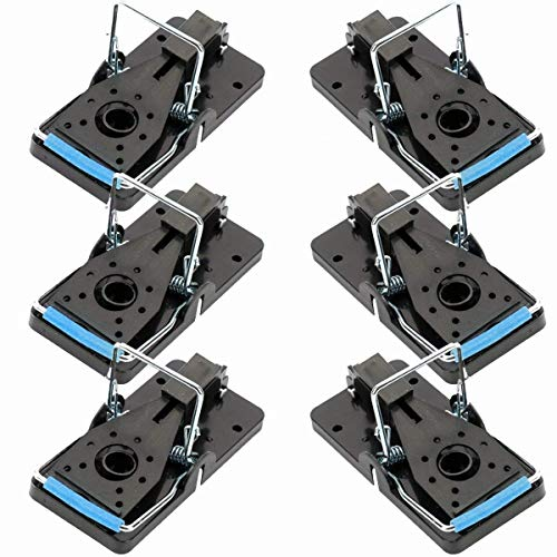 Home Solutions™ 6x Pack - Mouse Traps For Indoors That Kill Instantly, Mice Control Traps, Snap, Trap Mouse, Professional, Outdoor, Reusable, Pest Control, Mousetraps, Mice Killer.