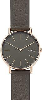 Skagen Signatur Women's Grey Dial Leather Analog Watch - SKW2794