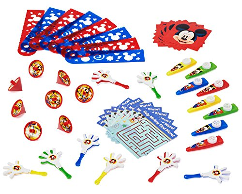 American Greetings Mickey Mouse Favor Pack, 48-Count
