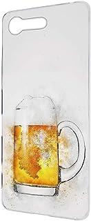 すまほケース ハードケース Xperia X Compact SO-02J 用 水彩画・ビール ビンテージ デッサン SONY ソニー エクスペリア エックス コンパクト docomo すまほカバー けいたいケース けーたいカバー vintag...