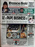 FRANCE SOIR [No 16209] du 17/09/1996 - MARSEILLE - NICOLAS ET SON TUEUR - ALEXANDRA - TARATATA - JOHN TRAVOLTA - LE PAPE BUSINESS...