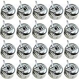 Caja de Bobina Maquina Coser, 20 Piezas de Bobina Canilla Metal de Máquina Bobbins Case Costura Accesorios de coser de uso doméstico Brother, Toyota, Janome y Singer