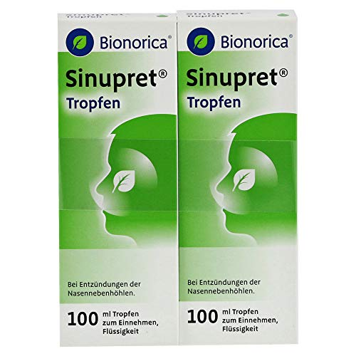 SINUPRET Tropfen 2X100 ml Tropfen