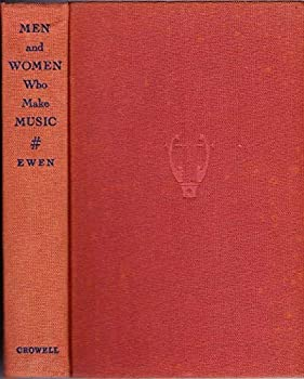 Hardcover Men and Women Who Make Music Book