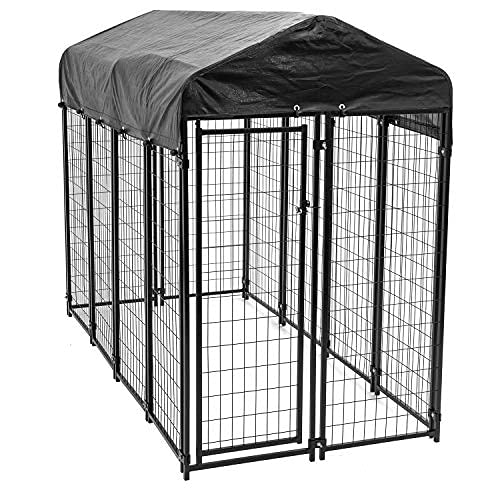 Lucky Dog 60548 8ft x 4ft x 6ft Uptown Welded Wire...