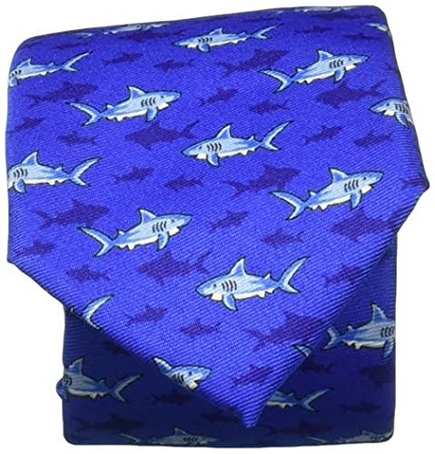 Wembley Big Boy's Novelty Fun Print Tie aqua, One Size