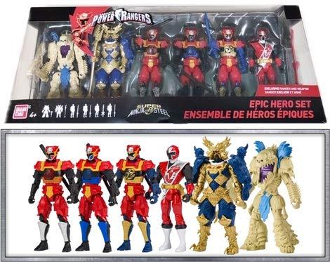 power ranger action figures set - 5