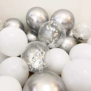 Sliver Balloons 12
