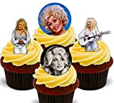 Made4You Dolly Parton - Decoración Comestible para Cupcakes